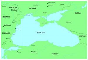 Karte Schwarzes Meer
