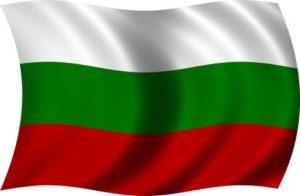 Fahne von Bulgarien
