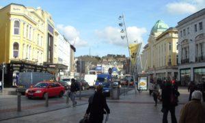 Cork Patrick Street belebt