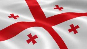 Fahne von Georgien