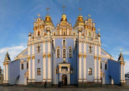Mihajlovsky-Kirche in Kiew