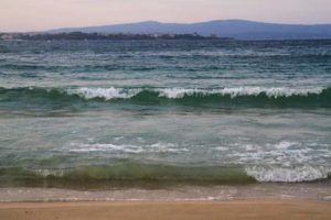 Schwarzes Meer bei Obzor in Bulgarien
