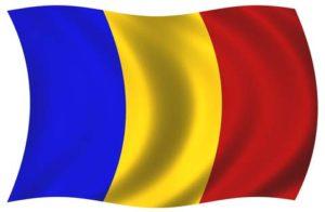Fahne von Rumänien