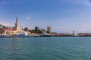 Sotchi am Schwarzen Meer